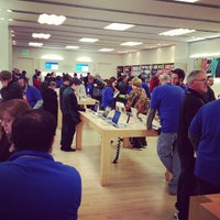 Photo taken at Apple Store, The Fashion Mall at Keystone by Nathan H. on 1/9/2013