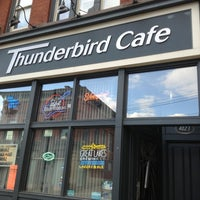 Photo taken at Thunderbird Cafe by Michelle D. on 3/29/2013