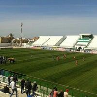 Photo taken at Stade Slaheddine Bey (CSHL) by Mostfa S. on 4/11/2015
