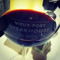 Photo taken at Vieux-Port Steakhouse by pigbaboon on 2/17/2013