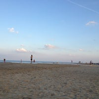 Photo taken at 145th St Beach by Jariya W. on 7/23/2013