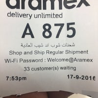 Photo taken at Aramex by Eng. Hamad A. on 9/17/2016