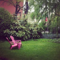 Photo taken at Founder's Garden by Steven on 4/29/2013