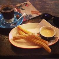 Photo taken at Chocolateria San Churro by Mayara 🍀 F. on 11/21/2015
