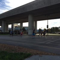 Photo taken at Berry Basketball Courts by Claire T. on 11/22/2015