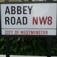 Photo taken at Abbey Road Crossing by Enrique U. on 7/26/2013