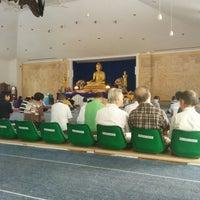 Photo taken at Vihara Theravada Buddha Sasana by Triananda T. on 5/18/2014