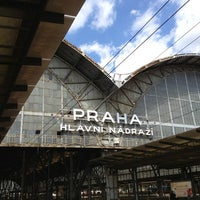 Photo taken at Prague Main Railway Station by Oliver S. on 7/1/2013