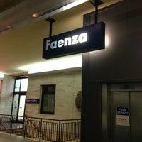 Photo taken at Stazione Faenza by Domenico M. on 5/24/2013