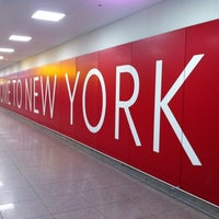 Photo taken at John F. Kennedy International Airport (JFK) by Oleksandr R. on 11/8/2013