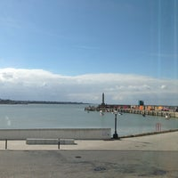 Photo taken at Turner Contemporary Cafe by Miles C. on 3/31/2013