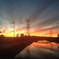 Photo taken at Tempe Canal @ Guadalupe Rd by Stu H. on 10/28/2013