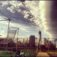 Photo taken at Trapeze School New York by Kate O. on 10/7/2012