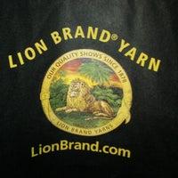 Photo taken at Lion Brand Yarn Studio by Arabia T. on 6/23/2013