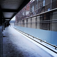 Photo taken at Metro North - Pleasantville Train Station by NYCreativePhoto on 1/21/2014