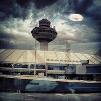 Photo taken at Zvartnots International Airport (EVN) by Ara K. on 6/20/2013