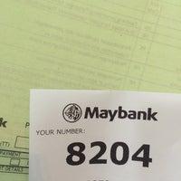 Photo taken at Maybank by Nabyla A. on 6/7/2016