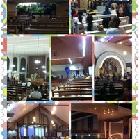 Photo taken at Redemptorist Church by Gelo A. on 3/29/2013