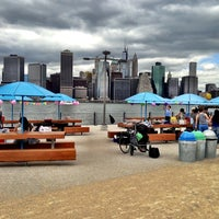 Photo taken at Brooklyn Bridge Park - Pier 6 by Monika on 6/9/2013