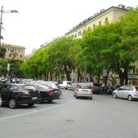 Photo taken at Piazza Paolo da Novi by C D. on 5/15/2013