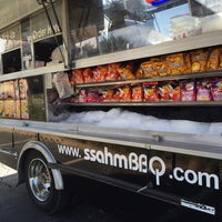Photo taken at ssahmBBQ by PoP O. on 9/23/2014