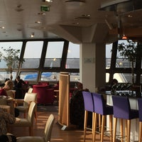 Photo taken at British Airways Terraces Lounge by Mark T. on 3/14/2016