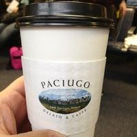 Photo taken at Paciugo Gelato & Caffè by Ken C. on 12/27/2012