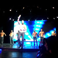 Photo taken at Chippendales Theatre at The Rio Vegas by Gem Q. on 11/28/2015