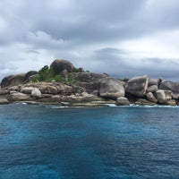Photo taken at Similan Islands by Katy I. on 11/25/2016