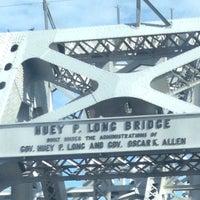 Photo taken at Huey P. Long Bridge by Christine L. on 10/4/2013