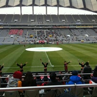 Photo taken at Seoul Worldcup Stadium by Seihoon P. on 11/25/2012