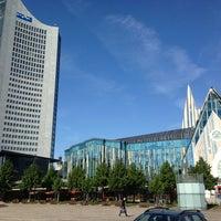 Photo taken at Augustusplatz by nie m. on 8/12/2013