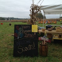 Photo taken at Huckleberry Trail Farm by Wendy M. on 10/19/2013