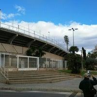 Photo taken at Estadio Municipal Castalia by Sergio G. on 2/28/2016