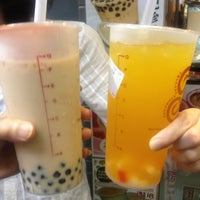 Photo taken at Gong Cha 貢茶 by Glendy Y. on 6/28/2013