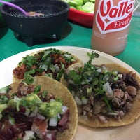 "Photo taken at Tacos ""El Parrillero"" by Andres G. on 3/17/2016"