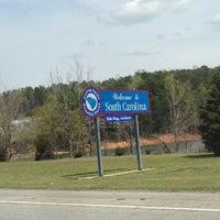 Photo taken at Georgia / South Carolina State Line by Ben S. on 4/7/2013