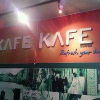Photo taken at KAFE KAFE Coffee by Ben Francis C. on 3/28/2014