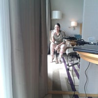 Photo taken at Four Points by Sheraton Guangzhou, Dongpu by Marja A. on 4/14/2013