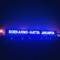 Photo taken at Soekarno-Hatta International Airport (CGK) by Novera I. on 10/25/2013