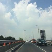 Photo taken at Jalan Jend. Ahmad Yani by Nur K. on 4/17/2014