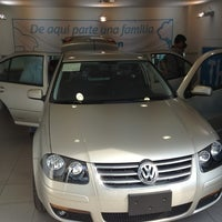 Photo taken at Volkswagen by Manuel L. on 4/10/2013