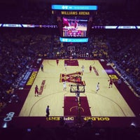 Photo taken at Williams Arena by Andrew B. on 1/30/2013