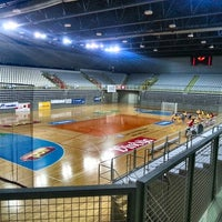 Photo taken at Sportska dvorana Varaždin by Juka on 1/25/2015