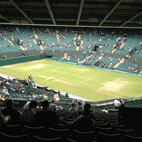 Photo taken at The All England Lawn Tennis Club by Alex C. on 7/3/2013