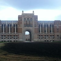 Photo taken at Rice University by Chris A. on 11/4/2012