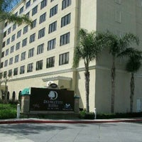 Photo taken at DoubleTree Suites by Hilton Hotel Anaheim Resort - Convention Center by Tony W. on 1/16/2013