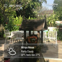 Photo taken at Wiriya House by Wiriya H. on 1/1/2014