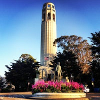 Photo taken at Coit Tower by Alfie C. on 5/3/2013