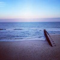 Photo taken at Karge Street Beach by Julia M. on 1/17/2014
